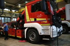 Radarbasierte Abbiegeassistenten für verschiedene Feuerwehrfahrzeuge