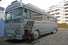 Wanderlodge WoMo-Bus mit 360° Kamerasystem & Radio